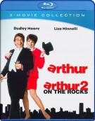 Arthur / Arthur 2: On The Rocks (Double Feature) Blu-ray