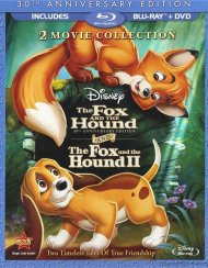 Fox And The Hound, The: Two Movie Collection (Blu-ray + DVD Combo) Blu-ray