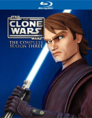 Star Wars: The Clone Wars - The Complete Season Three Blu-ray