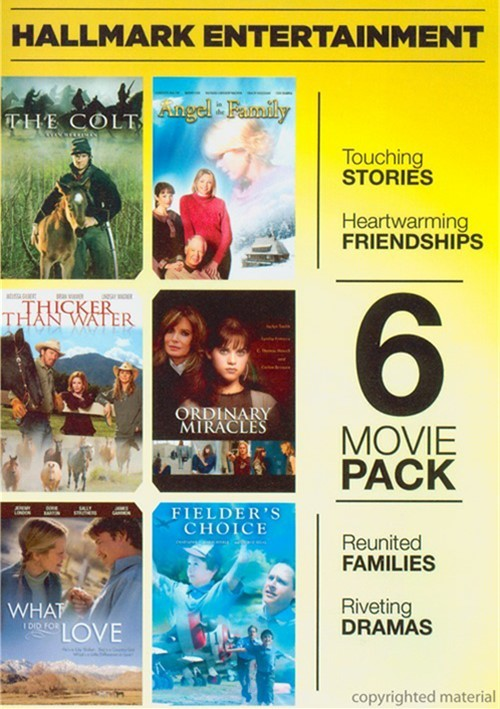 6 Movie Pack: Hallmark Entertainment Collection Movie
