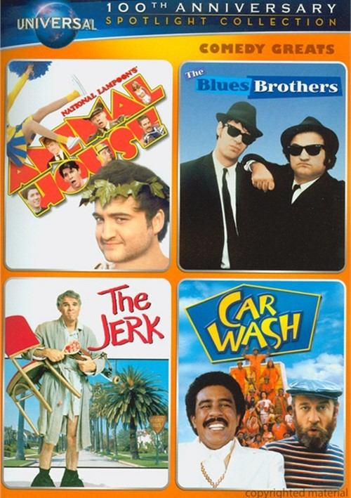 Comedy Greats Spotlight Collection (National Lampoons Animal House / The Blues Brothers / The Jerk / Car Wash) Movie