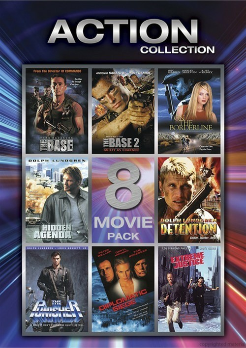 Action Collection: 8 Movie Pack - Volume 1 Movie