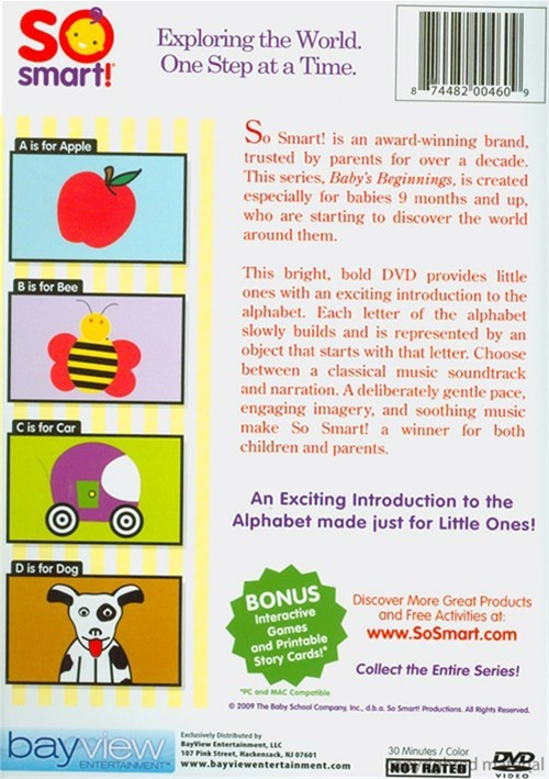 So Smart!: Baby's Beginnings - Letters (DVD) | DVD Empire