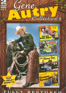 Gene Autry: Movie Collection 4 Movie