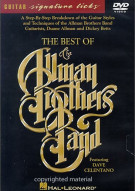 Guitar Signature Licks: Best Of The Allman Brothers Band Movie
