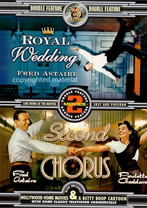 Fred Astaire Double Feature: Royal Wedding / Second Chorus Movie