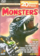 Monsters: 20 Movie Pack Movie