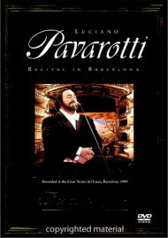 Forever Gold: Luciano Pavarotti - Recital In Barcelona Movie