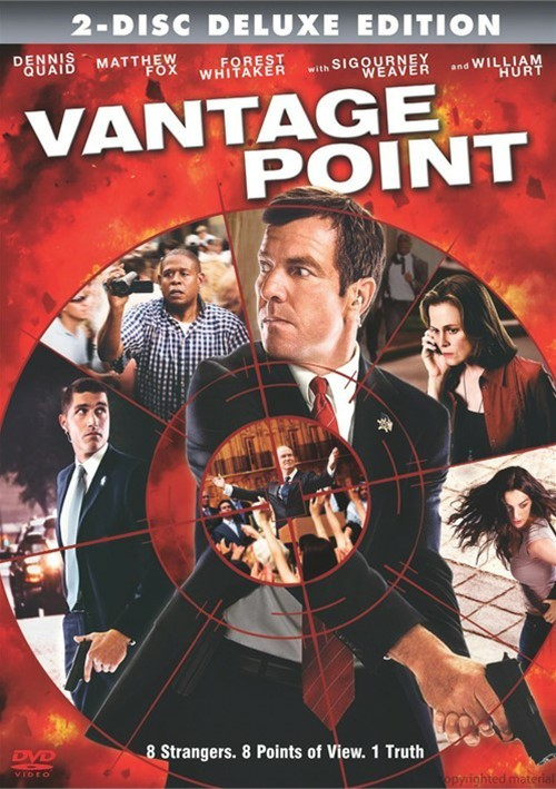 Vantage Point: Deluxe Edition (DVD 2008) | DVD Empire