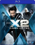 X2: X-Men United Blu-ray
