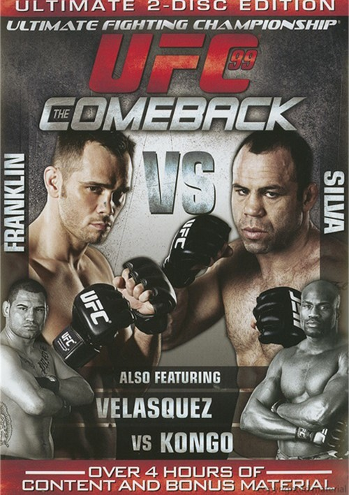 UFC 99: The Comeback Movie