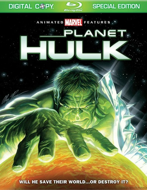 Planet Hulk: Special Edition Blu-ray
