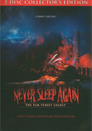 Never Again: The Elm Street Legacy - 2 Disc Collectors Edition (w/ Poster) Movie