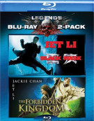 Black Mask / The Forbidden Kingdom (Double Feature) Blu-ray
