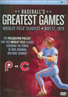 Baseballs Greatest Games: 1979 Wrigley Field Slugfest  Movie