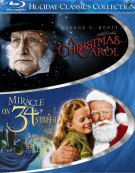 Christmas Carol, A / Miracle On 34th Street (The Holiday Classics Collection) Blu-ray