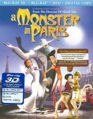 Monster In Paris 3D, A (Blu-ray 3D + Blu-ray + DVD + Digital Copy) Blu-ray