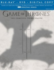 Game Of Thrones: The Complete Third Season (Blu-ray + DVD + Digital Copy) Blu-ray