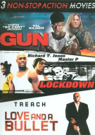 Gun / Love And A Bullet / Lockdown (Non-Stop Action Triple Feature) Movie