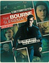 Bourne Supremacy, The (Steelbook + Blu-ray + DVD + UltraViolet) Blu-ray