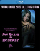 She Killed In Ecstasy (Blu-ray + CD) Blu-ray