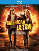 American Ultra (Blu-ray + DVD + UltraViolet) Blu-ray