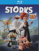 Storks (Blu-ray 3D + Blu-ray + DVD + UltraViolet) Blu-ray