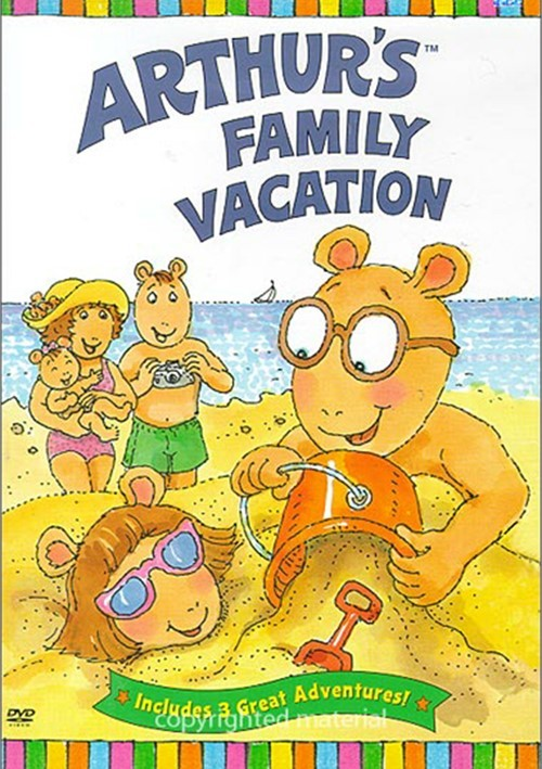 Vacation Dvd Empire: Arthur's Family Vacation (DVD 2004)