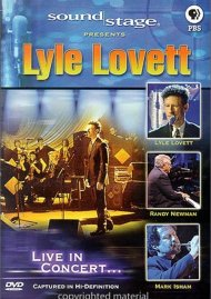 Soundstage: Lyle Lovett - Live In Concert Movie