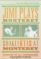 Jimi Plays Monterey / Shake! Otis At Monterey: The Criterion Collection Movie