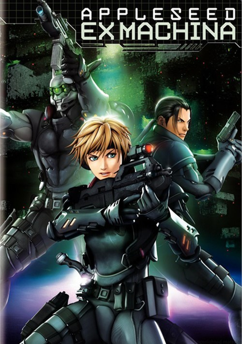 Appleseed: Ex Machina Movie