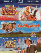 Blazing Saddles / Caddyshack / National Lampoons European Vacation (Triple Feature) Blu-ray