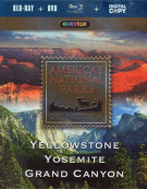 Americas National Parks: Yellowstone, Yosemite, Grand Canyon (Blu-ray + DVD + Digital Copy) Blu-ray