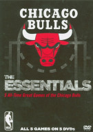 NBA Essential Games Of The Chicago Bulls Movie