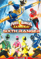 Power Rangers Samurai Vol. 4: The Sixth Ranger Movie