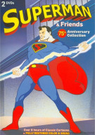 Superman And Friends: 75th Anniversary Cartoon Collection Movie