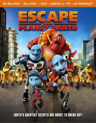 Escape From Planet Earth 3D (Blu-ray 3D + Blu-ray + DVD + Digital Copy + UltraViolet) Blu-ray