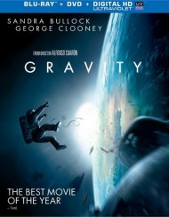 Gravity (Blu-ray + DVD + UltraViolet) Blu-ray