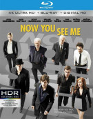 Now You See Me (4K Ultra HD + Blu-ray + UltraViolet) Blu-ray
