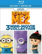 Despicable Me 2: 3 Mini-Movie Collection (Blu-ray + UltraViolet) Blu-ray