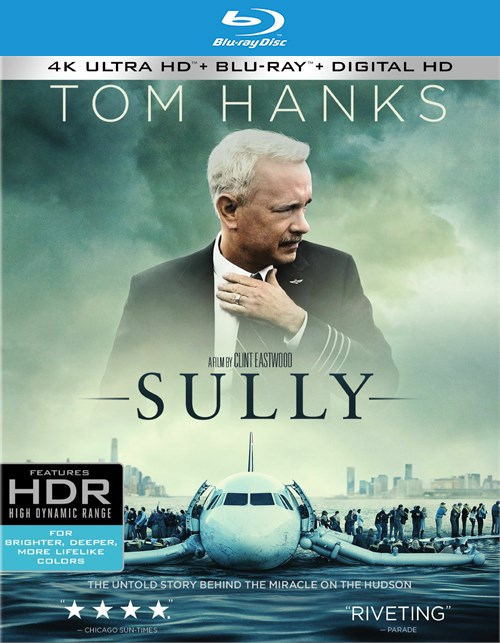 Sully (4K Ultra HD + Blu-ray + UltraViolet) Blu-ray