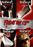 Friday The 13th: Deluxe Edition Four Pack Movie
