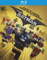 LEGO: Batman Movie, The (Blu-ray 3D + Blu-ray + UltraViolet)  Blu-ray