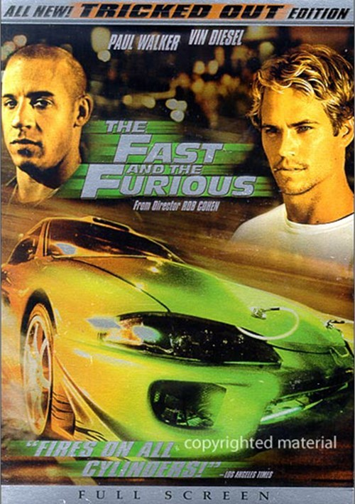 Fast And The Furious, The: Tricked Out Edition (Fullscreen) Movie