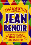 Stage and Spectacle: Three Films By Jean Renoir - The Criterion Collection Movie
