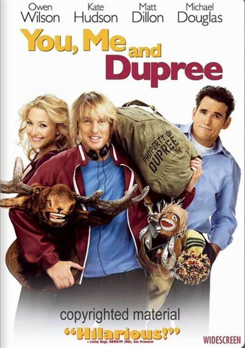 You, Me And Dupree (Widescreen) Movie