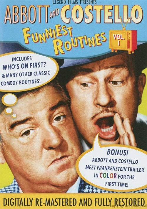 Abbott And Costello: Funniest Routines - Vol. 1 Movie