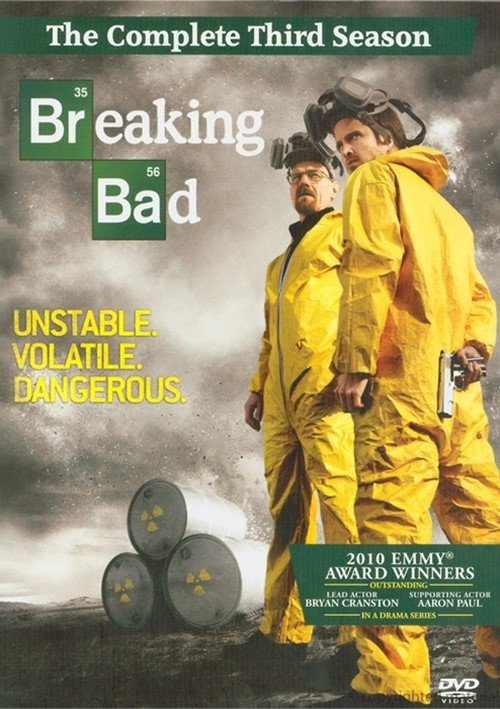 Breaking Bad: The Complete Third Season Movie