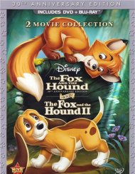 Fox And The Hound, The: Two Movie Collection (DVD + Blu-ray Combo) Blu-ray