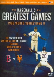Baseballs Greatest Games: 1986 World Series Game 6 Movie